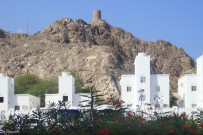View of the Al Jalali Fort
