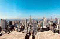 Ausblick vom Rockefeller Center (New York)