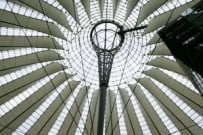 Sony Center - Dach