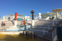 Sun and pool deck