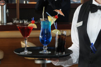 Cocktails at the Yacht Club