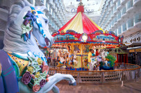 Boardwalk with carousel